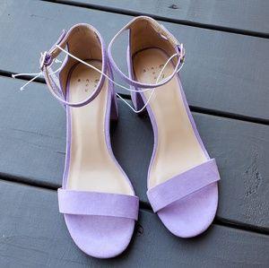 Ankle Strap Block Heel Michaela Pumps